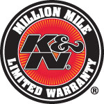 K&N filters undergo multiple performance tests that allow K&N to back them with a 10-year/million mile limited warranty