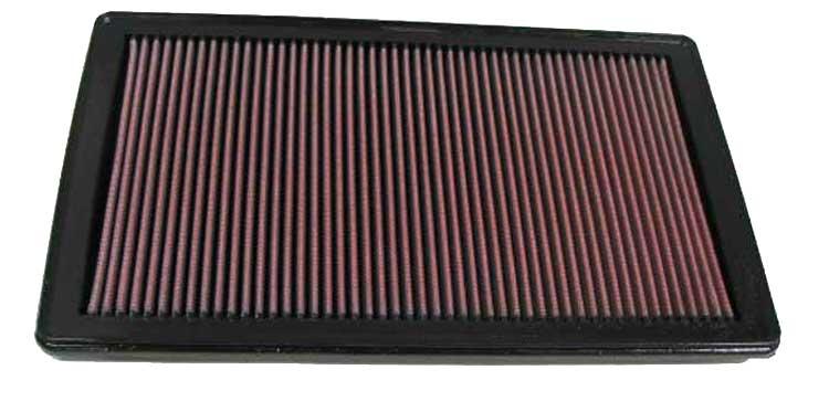 K/&N 33-2284 Hi-Flow Air Intake Drop in Filter for 2003-2011 Mazda RX-8 1.3L