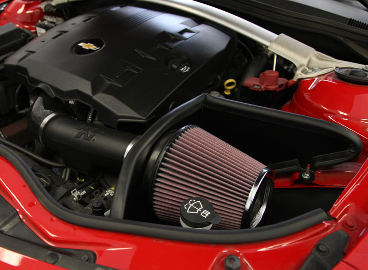 63 3078 Performance Air Intake System Engine Compartment Photo