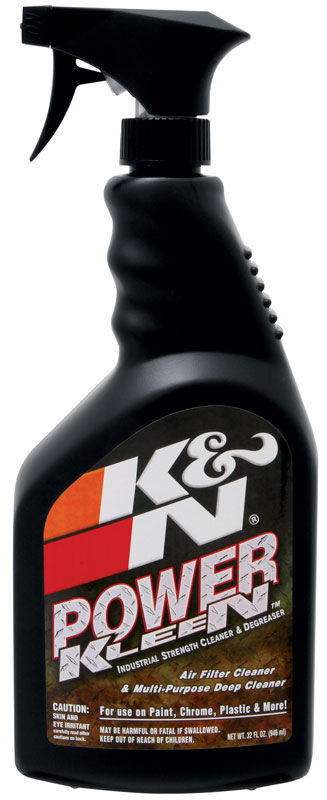 k&n 99-0621 power kleen; filter cleaner - 32 oz trigger sprayer ...