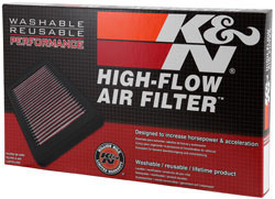 K&N 33-3033 washable replacement air filter in box