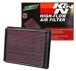 K&N Replacement Air Filters use the same technology as K&N racing air filters