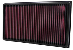 K&N's 33-2424 lifetime replacement air filter for 2009, 2010, 2011, 2012 and 2013 Mazda 6 with a 2.5 liter engine, U.S.