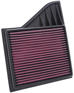Replacement lifetime air filter for  Ford Mustang GT