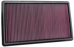K&N's 33-2432 replacement panel air filter.