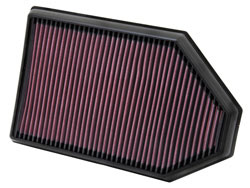 K&N performance air filter for 2011-2014 Chrysler 300 3.6L, 5.7L, & 6.1L Hemi V8