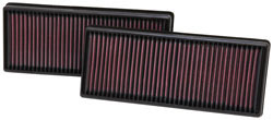 Replacement Air Filter for Select 2011 and 2012 Mercedes S-class, E-class, and CL-class models