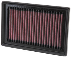 Toyota Prius C K&N Replacement Air Filter Top or Front Side