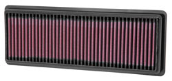 K&N Replacement Air Filter for Fiat 500 Abarth Turbo 1.4 Liter