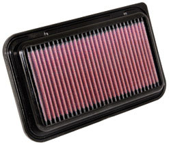 2013 Vauxhall Agila 1.0L L3 Air Filter