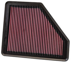 K&N's 33-2958 lifetime replacement air filter for the 2008, 2009, 2010, 2011 and 2012 Hyundai Genesis