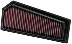 Washable and reusable replacement air filter for 2009 to 2015 C180 