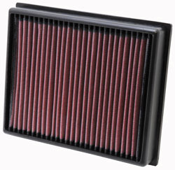 Replacement Air Filter for 2007 to 2012 Land Rover Defender models with 2.4 liter engines