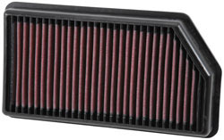 K&N 33-3008 replacement performance air filter upgrade for the Kia Forte, Kia Cee'd and the Hyundai i30