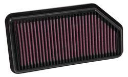 K&N 33-3009 air filter for 2014, 2015 & 2016 Kia Rio 1.2-litre models
