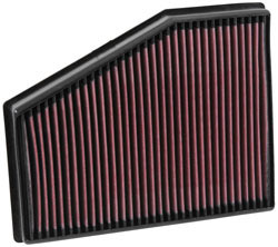K&N 33-3013 replacement air filter for Volkswagen Polo R WRC 2.0L Turbo, Seat Ibiza, and Audi A1 2.0 diesel