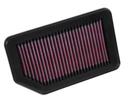 The K&N reusable air filter for 2014 Honda City models with a 1.5-litre i-VTEC petrol engine