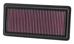K&N 2014-2016 Subaru XV Crosstrek 2.0L Hybrid Crossover SUV washable air filter
