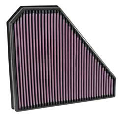 K&N replacement air filter, number 33-5028, is designed to fit in the stock air box of 2014-2015 Cadillac CTS VSport