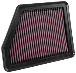 A K&N Air Filter will increase airflow to the FC2 / FC3 Honda Civic K20C2 2.0L