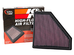 The K&N Replacement Filter is engineered to fit perfectly in the original factory airbox