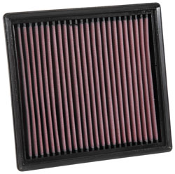 K&N replacement filters increase power without causing addtional engine wear
