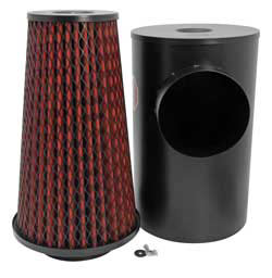 K&N Washable Heavy Duty Air Filter with Canister