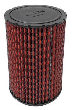 Part number 38-2016S is a standard flow air filter that is 20.438 inches high, with an outer diameter of 10.375 inches, and an inner diameter of 8 inches