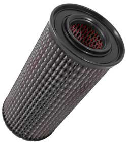 K&N 38-2043R is a reverse flow air filter that is 23.563 inches high