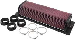 Complete view of USAC Ford Focus Midget Racing Air Filter Assembly 55-1040