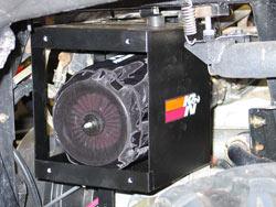 K&N 57-1120 FIPK Performance Intake System installed on Polaris 760cc engine