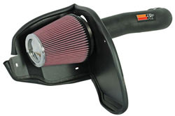 K&N's 57-1554 air intake system for Dodge Nitro 3.7 liter V6 engine