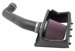 K&N designed and engineered the 57-2584 cold air intake to fit 2011-2012 Ford F-150 6.2L trucks