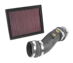 The K&N 57-2588 air intake system is designed for 2014 and 2015 Ford Fusions.