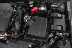 The K&N 57-2588 air intake offers an estimated boost of 4.78-horsepower at 5247 rpm.