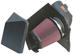 2005 GMC Sierra 3500 6.6L V8 air intake systems from K&N.