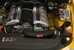 2005 Pontiac GTO 6.0L can benefit from a K&N filter or K&N air intake