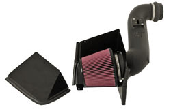2007 GMC Sierra 2500 HD 6.6L V8 air intake system