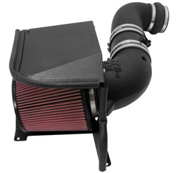K&N Air Intake System for new 2011 to 2014 Chevrolet Silverado and GMC Sierra 2500 HD and 3500 HD 6.6Ls