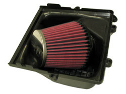 K&N 57S-4902 Air Box lid upsidedown with High Flow Performance Air Filter