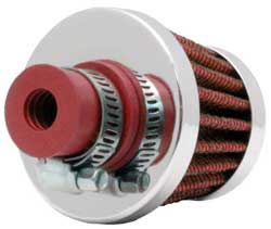 K&N Conical Red Crankcase Vent Filter