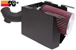 K&N Engineering 63-1124 air intake system for the 2008 and 2009 Kawasaki KFX450R Model Sport ATV