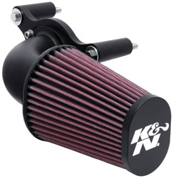 Air Intake 63-1125 for Harley Touring, Dyna & Softail Fuel Injected Models, Softail Models & Dyno Models