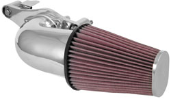 The 63-1138C chrome intake for the Milwaukee-Eight engine