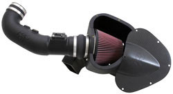 K&N Air Intake System for 2011, 2012 and 2013 Ford Mustang GT 5.0L