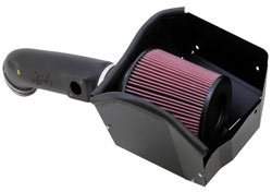 2015 Ford F550 Super Duty 6.7L V8 air intake system