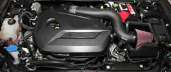 Roto-molded air intake tubes allow K&N intakes the freedom of design and offer an OE fit and finish