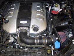 K&N 2008 and 2009 Pontiac G8 6.0L models air intake system