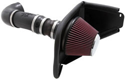 K&N's 63-3072 air intake system for the 2008 and 2009 Pontiac G8 with a 3.6 liter V6 engine