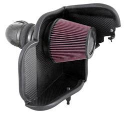 K&N Air Intake System for 2012 and 2013 Chevy Camaro ZL1